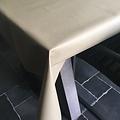 Beschichtete Tischwäsche beige