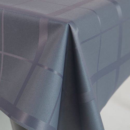 Coated table textile Lys gray