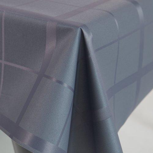Gecoat tafeltextiel Lys - grijs