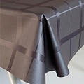 Coated table textile Lys black