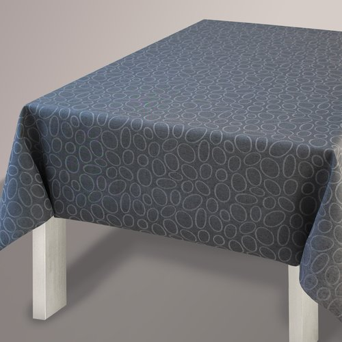 Coated Table textile Elfo gray