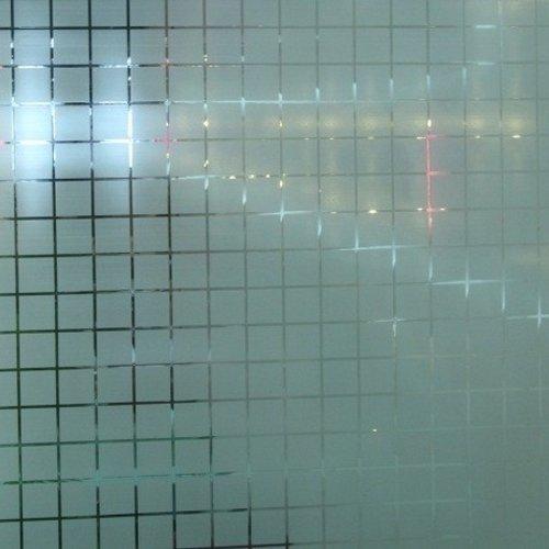 Fensterfolie Statisch 90 cmx20 m. Quadrate