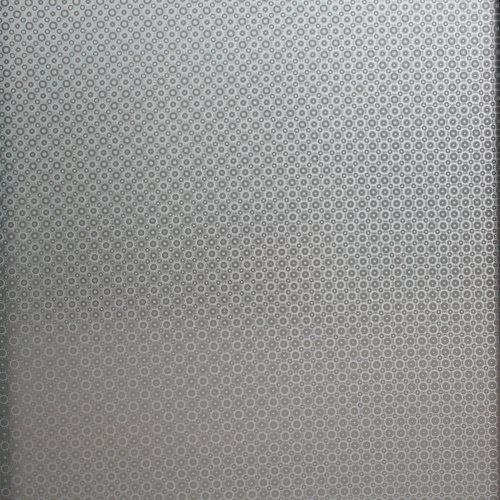 Raamfolie statisch-anti inkijk- rondjes 45cm x 2 meter