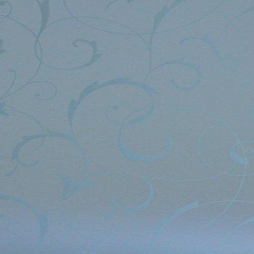 Fensterfolie Blumen weiß verpackt pro 6 Rollen