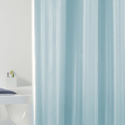 Shower curtain textile Rigone blue