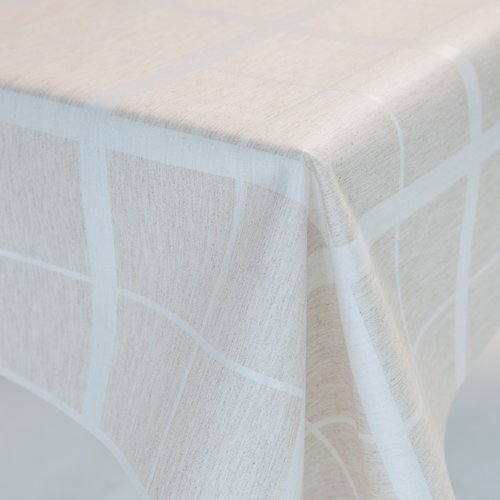 Coated table textiles Lys natural