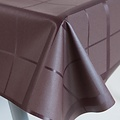 Coated table textiles Lys marron