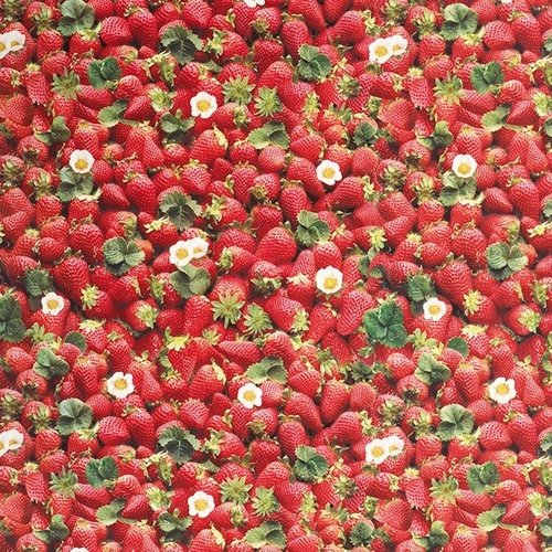 PVC oilcloth Strawberries