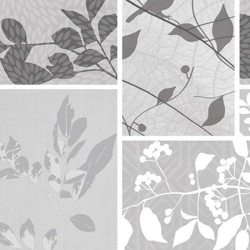 PVC oilcloth Pure grey