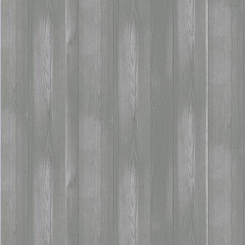 PVC Wachstuch Holz hellgrau