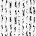 Door curtain Marloes 90x220 cm tra / black