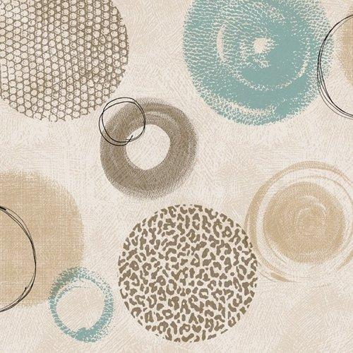 PVC oilcloth Cuirsa beige