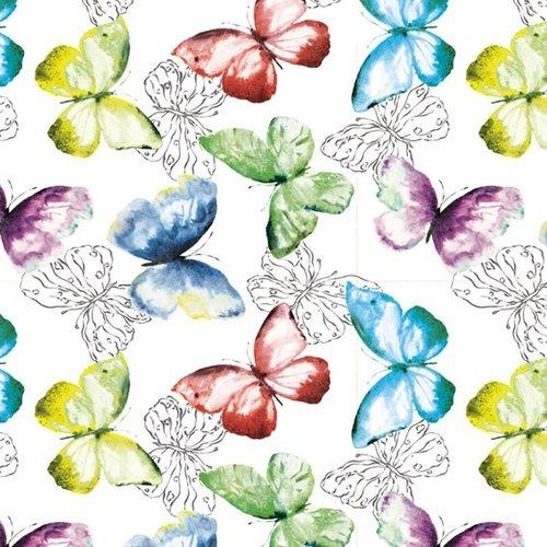 PVC Wachstuch Schmetterlinge