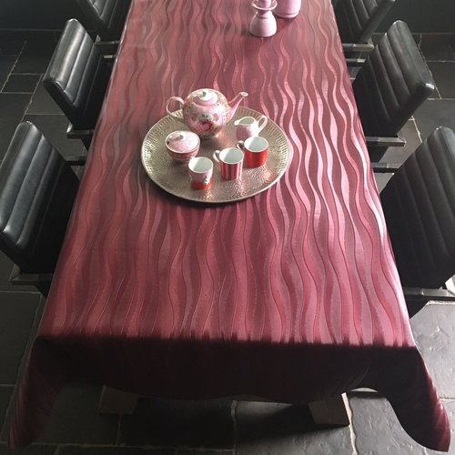Table textile Polyline Onix red