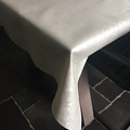 Table textile Polyline Amatista white