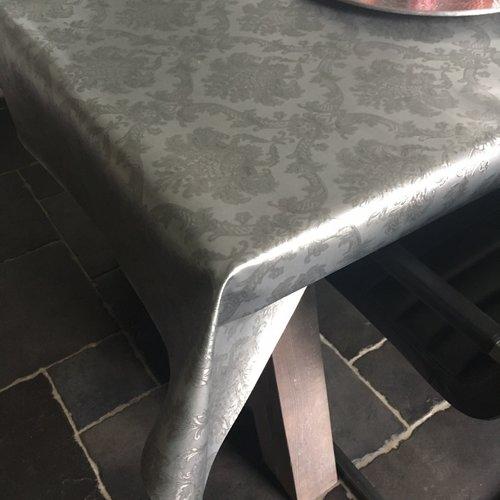 Tafeltextiel Polyline Amatista zilver