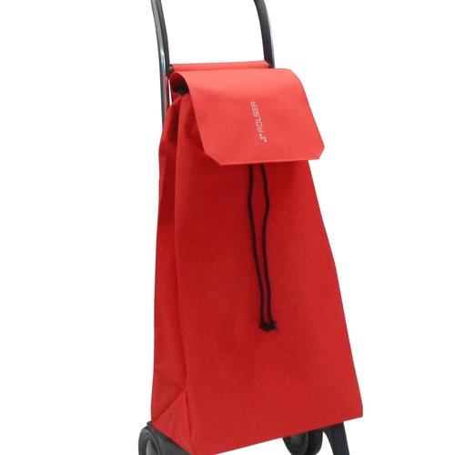 Boodschappentrolley met wielen Rolser Jet  rood