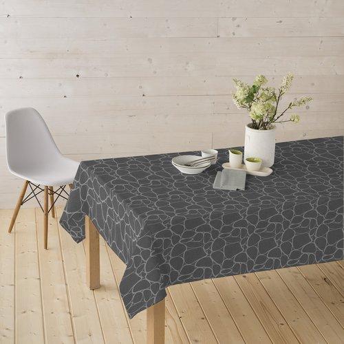 Coated Table textile Tramuntana gray