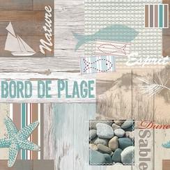 PVC Tafelzeil Bord de plage