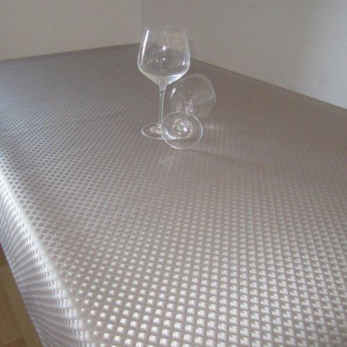 Table textile Polyline Zafiro gray