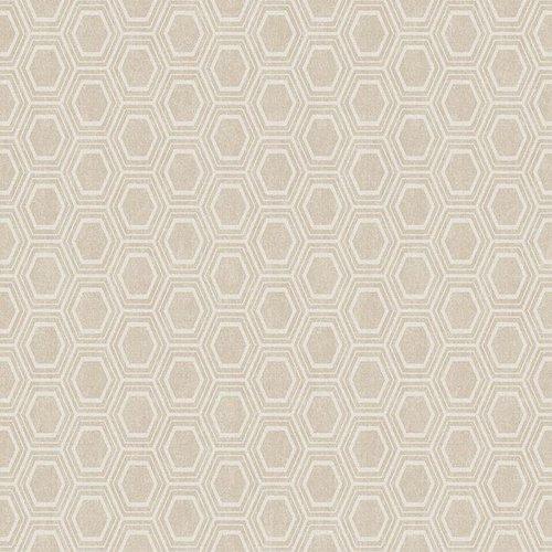 PVC oilcloth Alveole beige