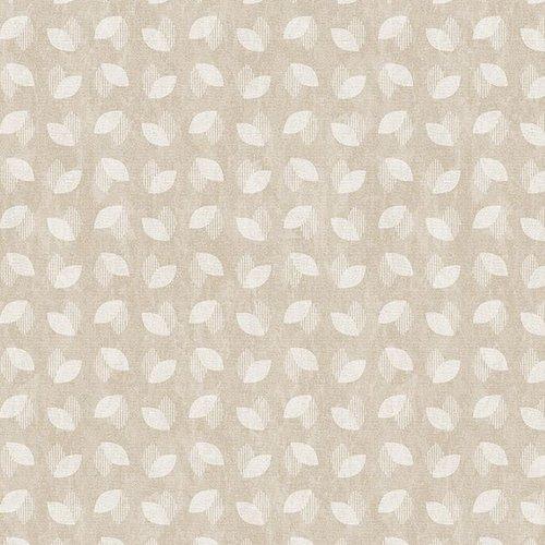 PVC oilcloth Aldine beige
