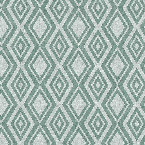 PVC Wachstuch Diamente grün