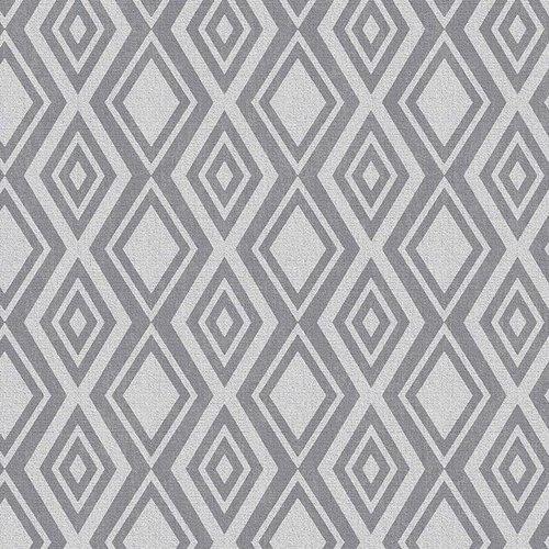 PVC tablecloth Diamente silver