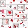 Coated Table textiles Aure Christmas