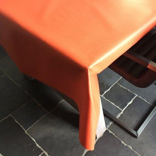 Beschichtete Tischwäsche hellrot