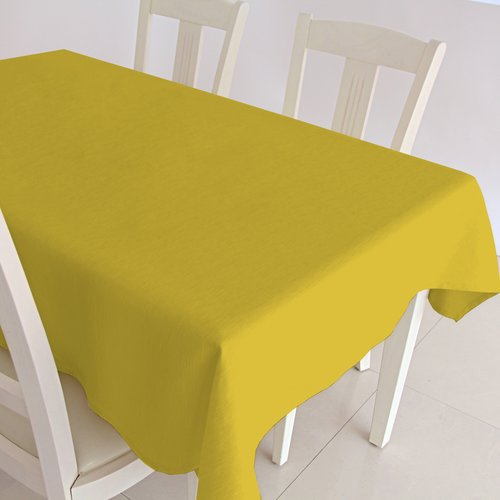 Gecoat tafelkleed Maly - geel