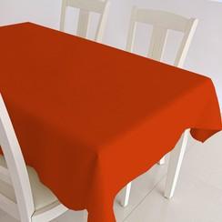 Gecoat tafelkleed Maly - oranje
