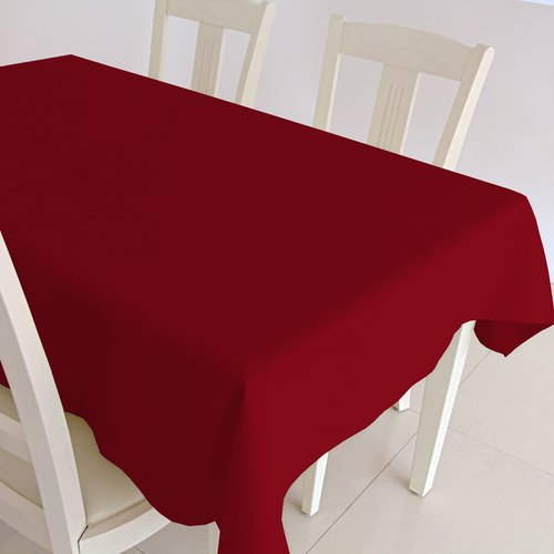 Coated Table textile Maly red