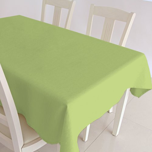 Coated Table textile Maly green