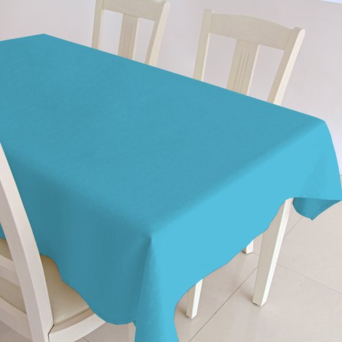 Coated Table textile Maly turquoise