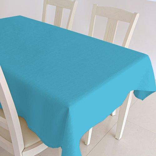 Gecoat tafelkleed Maly - turquoise
