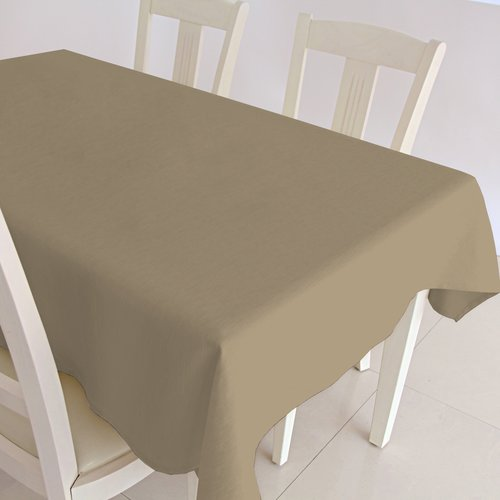 Coated Table textile Maly camel