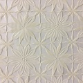 Oilcloth Lace Large Flower beige