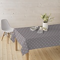 Coated Table textiles Star taupe