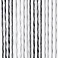 Door curtain Victoria 90x220 cm gray / white duo