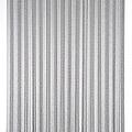 Door curtain Victoria 100x240 cm black / silver duo