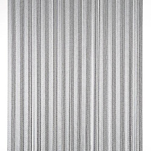 Vliegengordijn-deurgordijn- Victoria  100x240 cm zwart/zilver duo