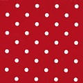 Adhesive foil dots red packed per 6 rolls
