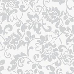 Plakfolie heritage zilver verpakt per 6 rollen
