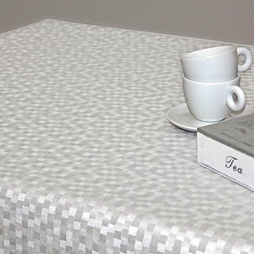 Table textile Polyline Dijon white