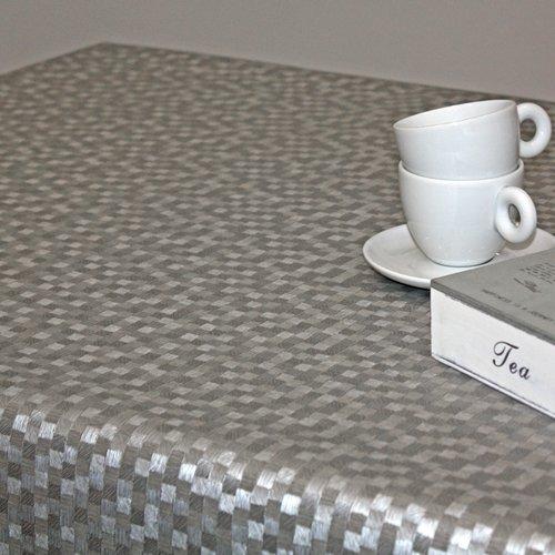 Tischtextil Polylinie Dijon Silber