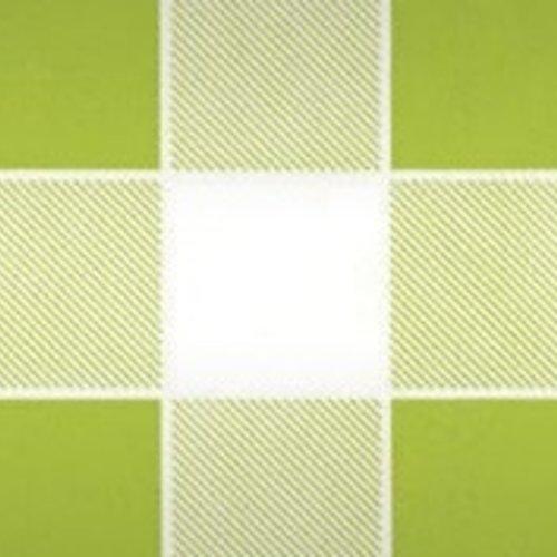 Damastpapier op rol 118 cm x 10 m Ruit groen 25 stuks