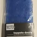 Douchemat-douche antislip voor douche stones blauw 55x55cm