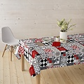 Coated Table textile Piatto red