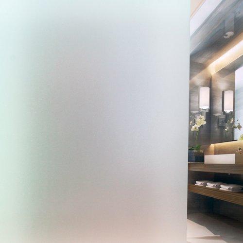 Raamfolie statisch-anti inkijk-45cm x 20mtr. 0.18mm dikte vorst